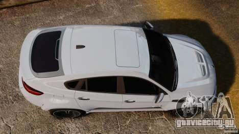 BMW X6 Hamann Evo22 no Carbon для GTA 4 вид справа