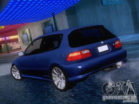Honda Civic IV GTI для GTA San Andreas вид справа
