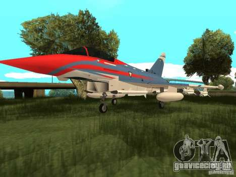 Eurofighter Typhoon для GTA San Andreas