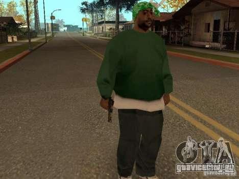 Пистолет 9mm для GTA San Andreas четвёртый скриншот