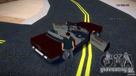 Feltzer HD для GTA San Andreas вид сверху