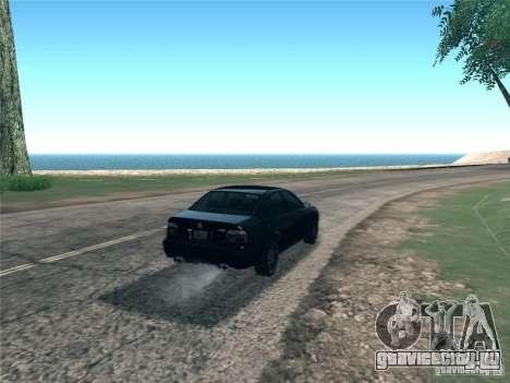 BMW M5 E39 2003 для GTA San Andreas вид сзади