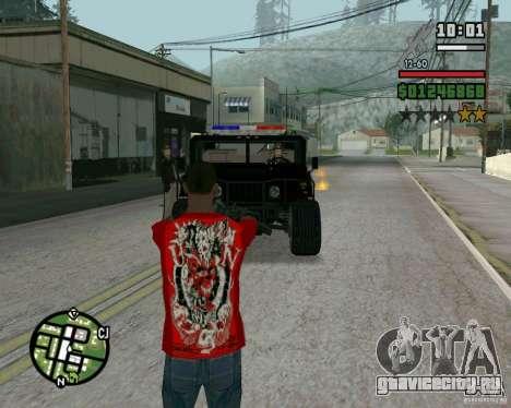 Новый шериф для GTA San Andreas второй скриншот