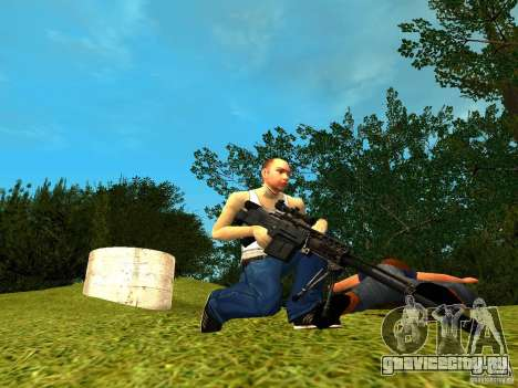 Accuracy International AS50 для GTA San Andreas третий скриншот