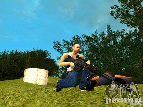 Accuracy International AS50 для GTA San Andreas третий скриншот