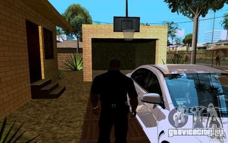 Новый дом Биг Смоука для GTA San Andreas шестой скриншот