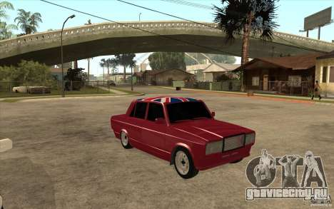 ВАЗ 2107 Бродяга v.2 для GTA San Andreas вид сзади