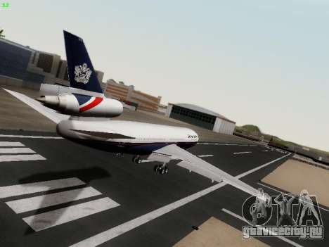 McDonell Douglas DC-10-30 British Airways для GTA San Andreas вид справа