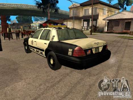 Ford Crown Victoria 2003 Police для GTA San Andreas вид слева