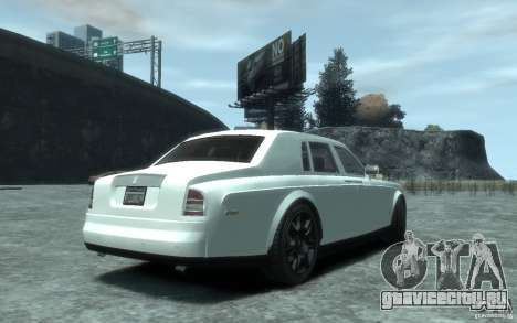 Rolls-Royce Phantom для GTA 4 вид справа