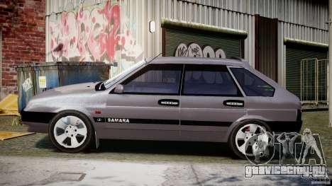 ВАЗ-2109 Samara 1999 для GTA 4 вид слева