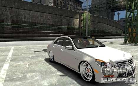 Mercedes Benz E36 AMG 2010 для GTA 4 вид сзади