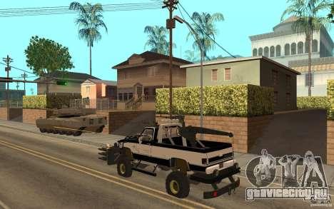 Chevrolet Hunter для GTA San Andreas вид справа