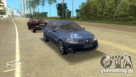 Renault Megane Sport для GTA Vice City