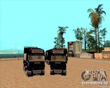 Scania R620 Pimped для GTA San Andreas вид сзади