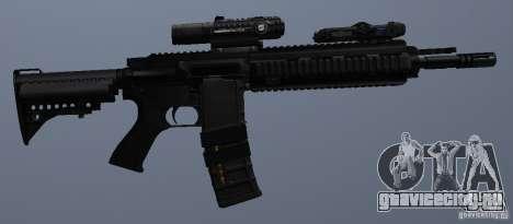 Автоматическая винтовка HK416 для GTA San Andreas шестой скриншот