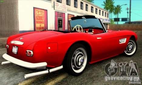 BMW 507 для GTA San Andreas вид слева