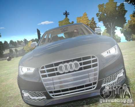 Audi A6 Avant Stanced для GTA 4 вид слева