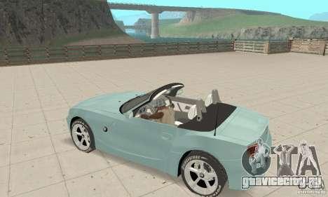BMW Z4 Roadster 2006 для GTA San Andreas