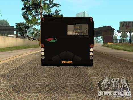 Прицеп для ЛиАЗ 6213.70 для GTA San Andreas вид слева