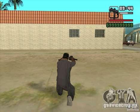 New Micro uzi HD для GTA San Andreas третий скриншот
