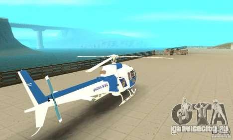 AS-350 Police для GTA San Andreas вид слева