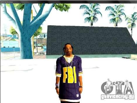 Snoop DoG в F.B.I. для GTA San Andreas второй скриншот
