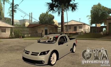 Volkswagen Saveiro G5 для GTA San Andreas