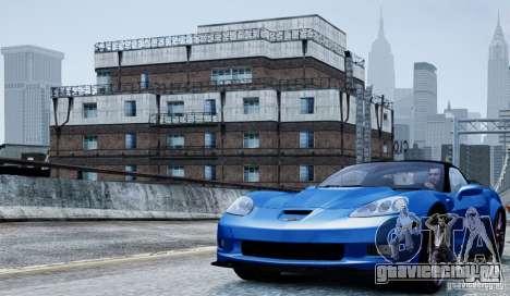 Chevrolet Corvette ZR1 для GTA 4 вид изнутри