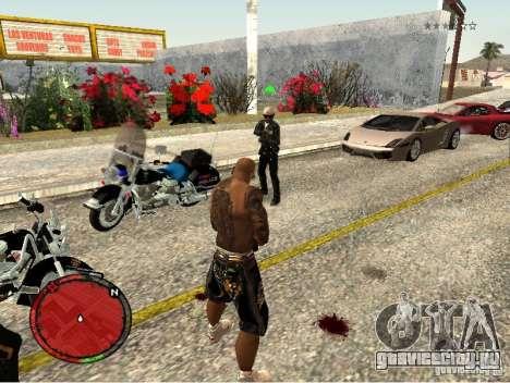 GTA IV HUD v1 by shama123 для GTA San Andreas пятый скриншот