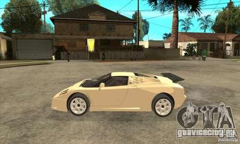 Bugatti EB110 SS 1992 для GTA San Andreas вид слева