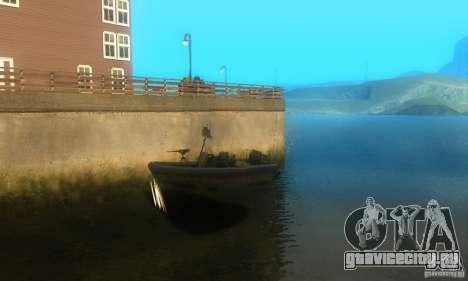 RHIB Boat для GTA San Andreas