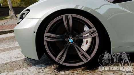 BMW M6 для GTA 4 вид сверху