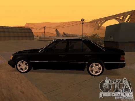 Mercedes-Benz E250 V1.0 для GTA San Andreas вид сверху