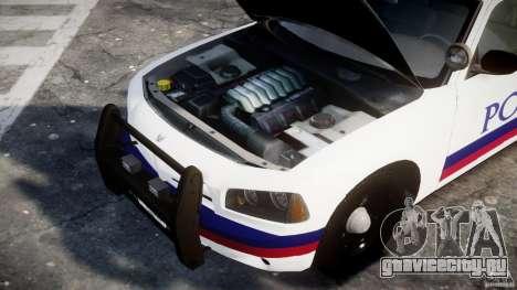 Dodge Charger Karachi City Police Dept Car [ELS] для GTA 4 вид сзади