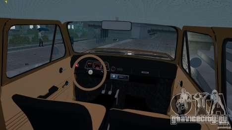ЗАЗ 968M для GTA 4 вид сзади