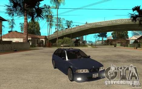 BMW M5 E39 530tdi Touring для GTA San Andreas