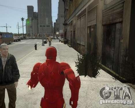 Iron Man Mk3 Suit для GTA 4 шестой скриншот
