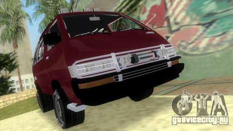 Toyota Town Ace-Tuning для GTA Vice City
