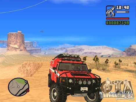 HZS Hummer H2 для GTA San Andreas