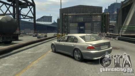 BMW 760I для GTA 4 вид слева