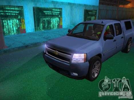 Chevrolet Silverado для GTA San Andreas двигатель