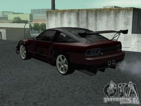 Nissan 240 SX для GTA San Andreas вид слева