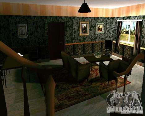Новый дом CJ v2.0 для GTA San Andreas третий скриншот