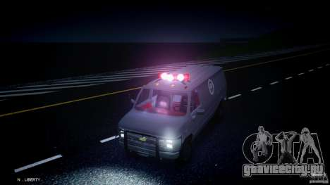 Chevrolet G20 Van V1.1 для GTA 4 вид сбоку