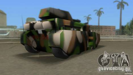Bundeswehr-Panzer для GTA Vice City четвёртый скриншот