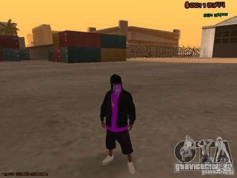 Ballas skins для GTA San Andreas второй скриншот