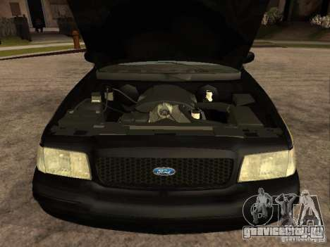 Ford Crown Victoria 2003 Police для GTA San Andreas вид справа