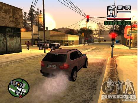 Winter Mod для GTA San Andreas четвёртый скриншот