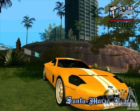 Shelby GR-1 для GTA San Andreas вид слева